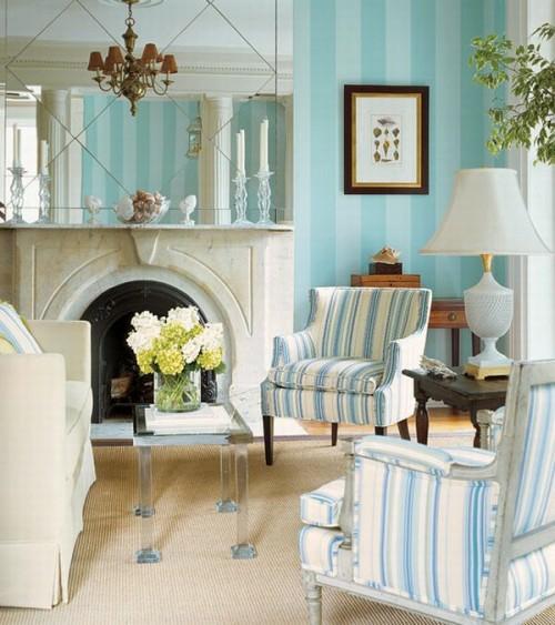 Schlafzimmer landhausstil blau  Schlafzimmer im französischen landhausstil ~ Übersicht Traum ...