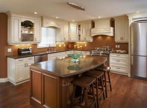 einrichten küchen design grundriss idee küchenschränke Küchen Grundrisse