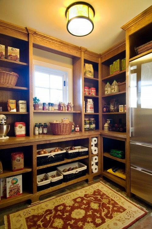 20 tolle Speisekammer Ideen - Aufbewahrung von Lebensmitteln