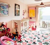 14 einzigartige, eklektische Kinderzimmer Design Ideen