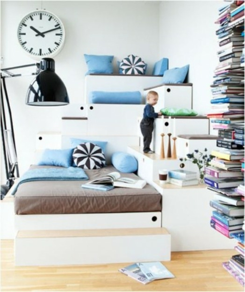 eklektische kinderzimmer design ideen einzigartiges. Black Bedroom Furniture Sets. Home Design Ideas
