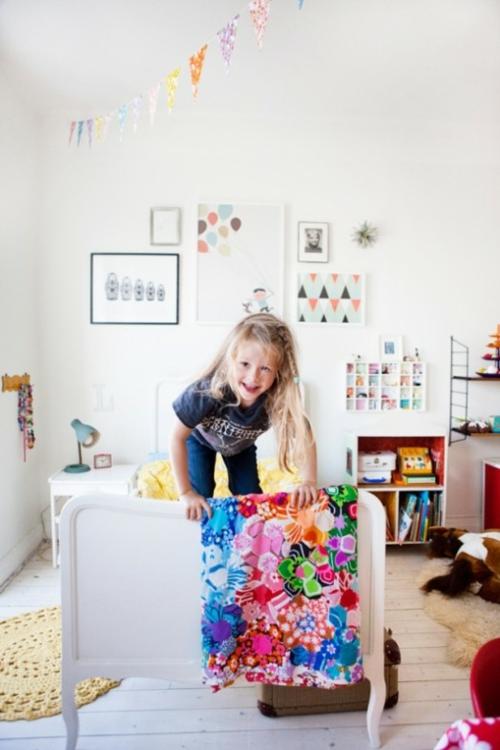 eklektische kinderzimmer design ideen freude