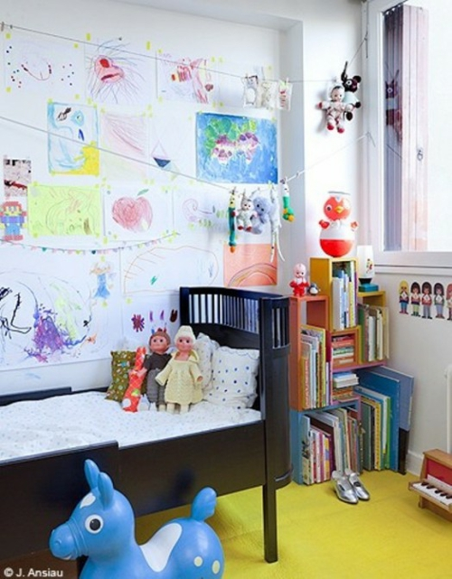 eklektische kinderzimmer design ideen einzigartiges interieur. Black Bedroom Furniture Sets. Home Design Ideas