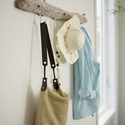 erstaunlichem Treibholz Hanger Tasche Flur Dekor