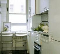 25 schicke Design Ideen für kleine Küche – pragmatische Vorschläge