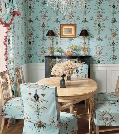 Küchentapeten Landhausstil interieur ideen im französischen landhausstil 50 tolle designs
