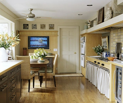 etat kluge erneuerung schmale Küchen Interieurs kompakt design