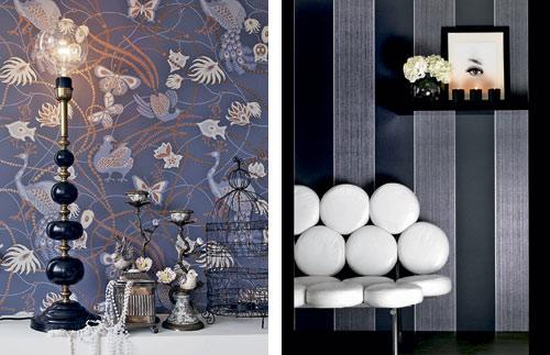 13 originelle und exklusive tapeten trends f r 2013. Black Bedroom Furniture Sets. Home Design Ideas