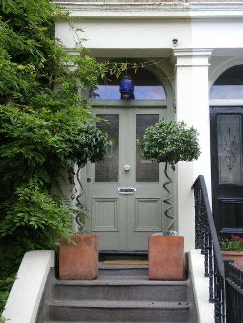 Haustür landhaus grau  12 coole Design Ideen für attraktive Haustüren