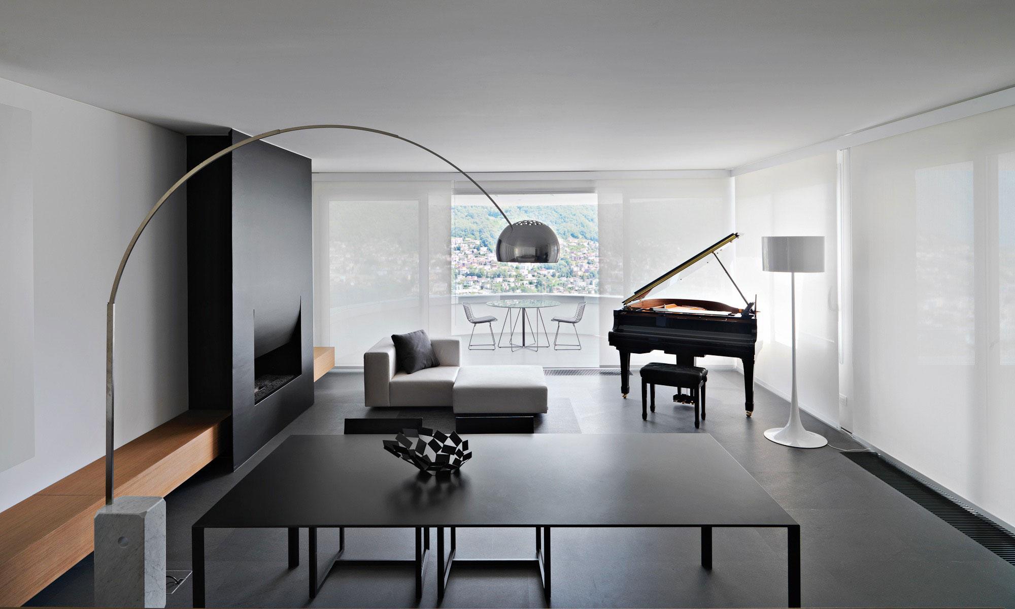 Interior design wohnzimmer  70 moderne, innovative Luxus Interieur Ideen fürs Wohnzimmer