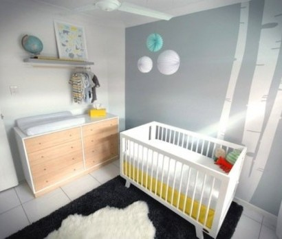 modernes kinderzimmer interieur f r ihr baby stilvolle idee. Black Bedroom Furniture Sets. Home Design Ideas