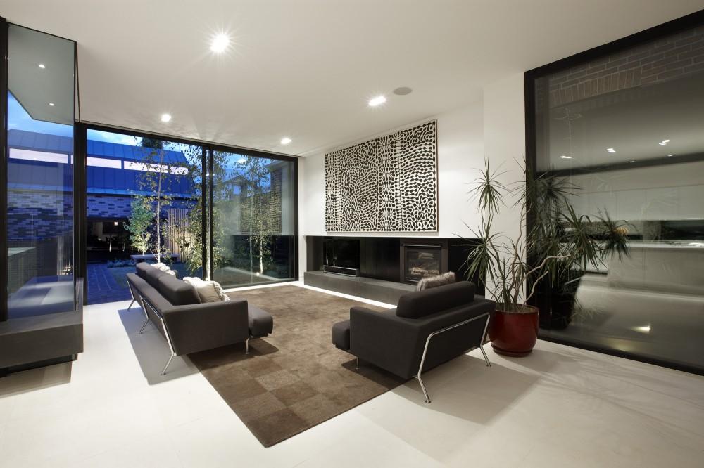 Moderne innenarchitektur wohnzimmer  70 moderne, innovative Luxus Interieur Ideen fürs Wohnzimmer
