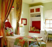 20 grüne Kinderzimmer Interieurs, die inspirierend wirken