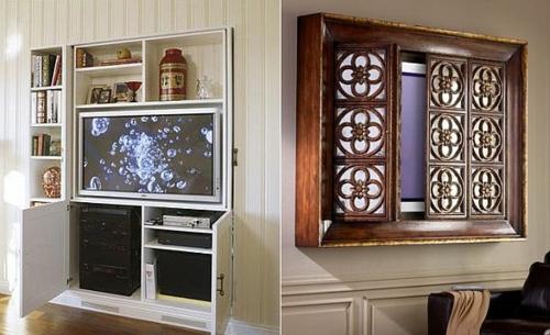 fernsehgerät-eingebaut-versteckt-interieur-idee-wohnung,