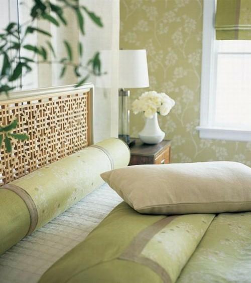 französischen landhausstil schlafzimmer idee extravagant gitter kopfende