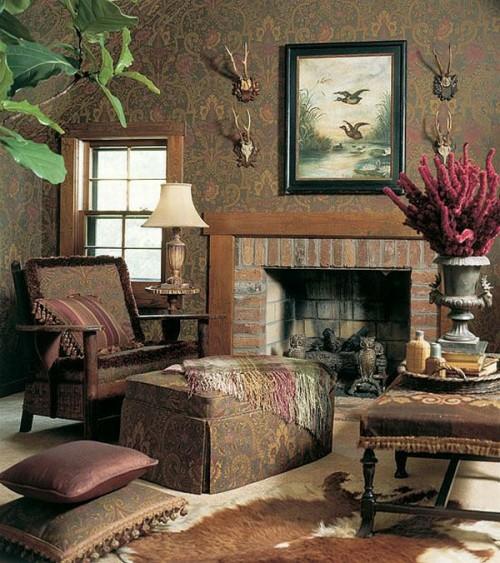 französischen landhausstil wohnbereich extravagant luxus im französischen Landhausstil