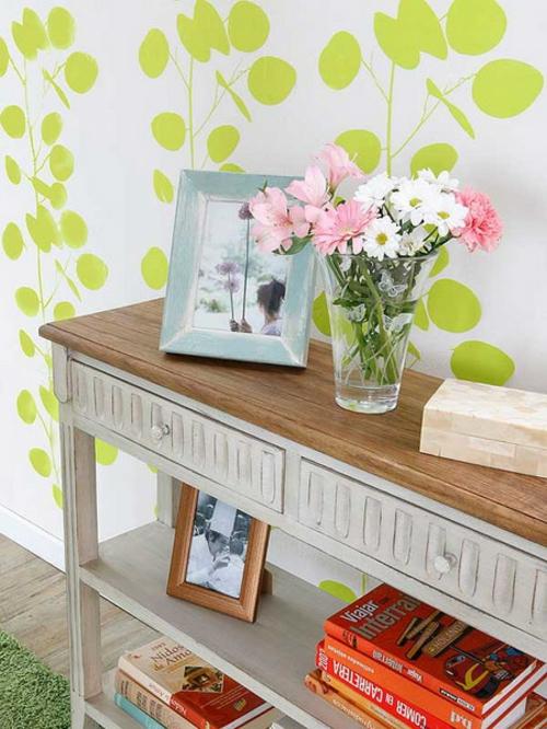 fr hlingsinspiration f r eine frische dekoration im flur. Black Bedroom Furniture Sets. Home Design Ideas