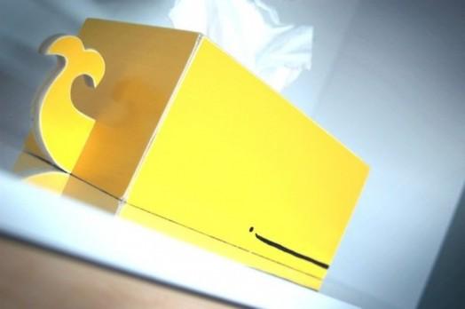 gelb kasten walfisch ähnlich interessant deko idee