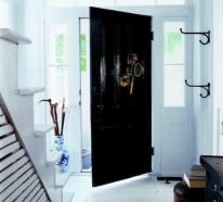 Schwarze Türen praktische schwarze innentüren - 14 originelle designer tipps