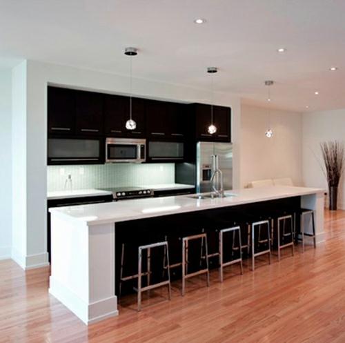Moderne Küche In Orange Und Grau: 10 Elegante, Attraktive Küchen Mit Origineller Ausstattungen