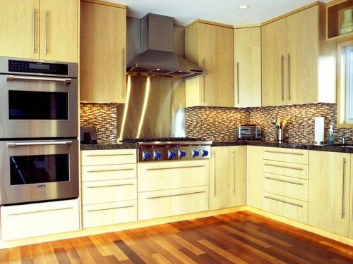 glatt gepflegt schlicht küche saugeapparat idee metallisch oberfläche