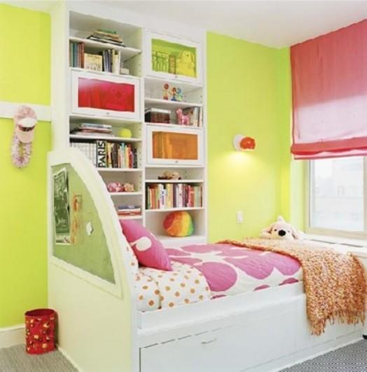 Grüne Kinderzimmer Interieurs - 20 Ideen, die inspirierend wirken