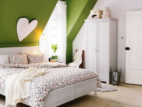 ... behagliche Schlafzimmer im Dachgeschoss – außergewöhnliche Ideen