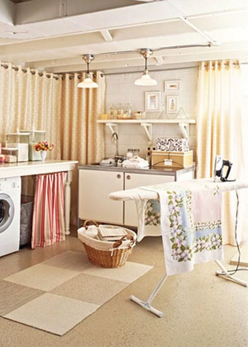 große waschküche interieur ihr zuhause beige