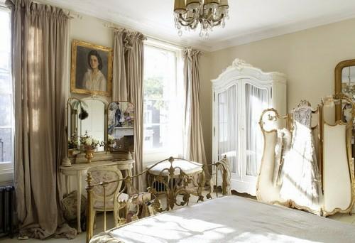 hell sonne strahlen englische schlafzimmer interier ideen