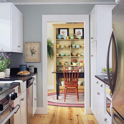 herrlich design küche klein kompakt arbeitsplatte schwarz