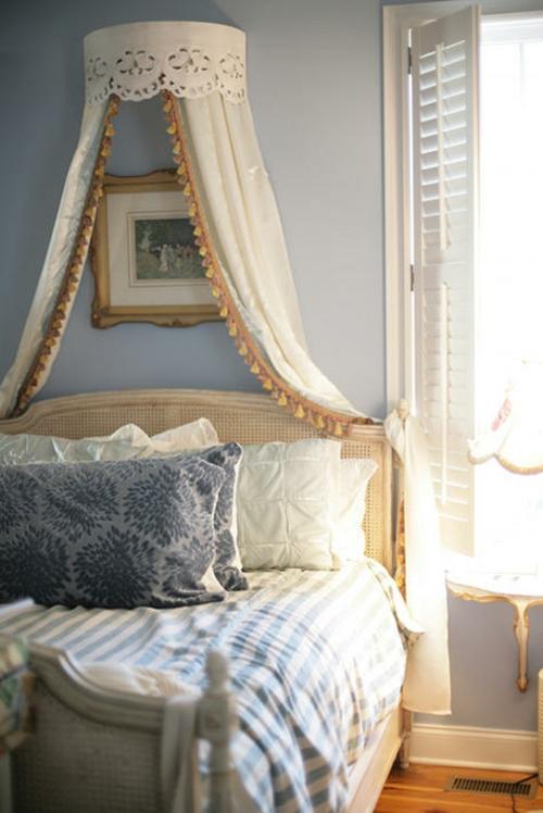 himmelbett im schlafzimmer - 23 stilvolle und extravagante ideen, Badezimmer