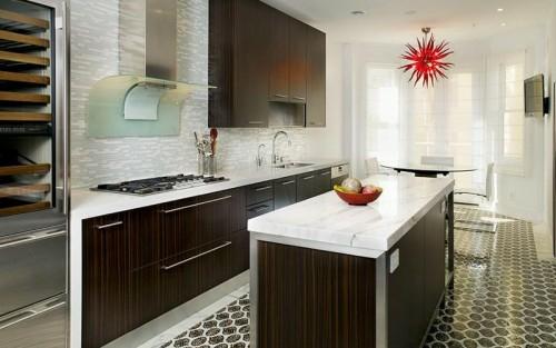 holz dunkel textur küchenspiegel design