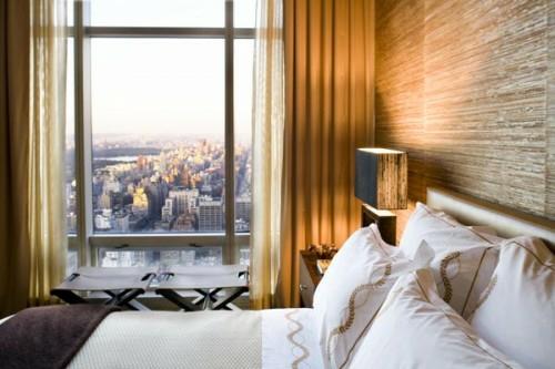 interessante naturtapeten schlafzimmer interieur fenster stadt urban design