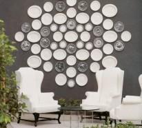 11 originelle Collagen – schöne und interessante Wandteller