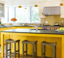 15 farbenfrohe k cheninsel ideen f r ihre wohnung Wohnung dekorieren fasching