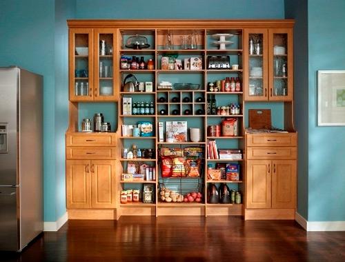 küchen design interieur anordnen idee speisekammer