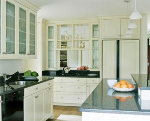 küchen grundrisse hölzern idee glasfront spülbecken küchenblock