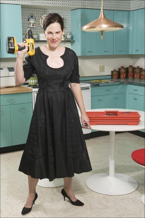 küchen idee retro design renovieren einrichten