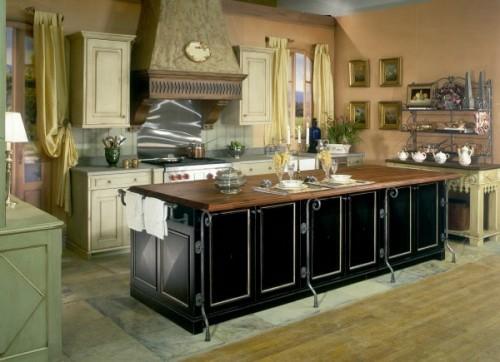küchen interieurs mit französischen deko elementen arbeitsplatte