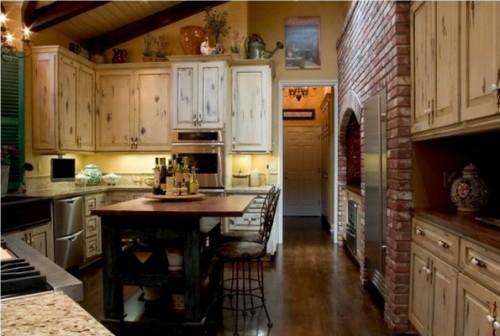 küchen interieurs mit französischen deko elementen bäuerlich
