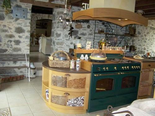 25 Küchen Interieurs Mit Französischen Deko Elementen ...