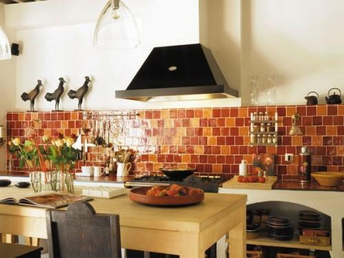 küchen interieurs mit französischen deko elementen küchenspiegel