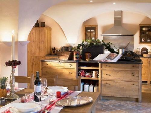 küchen interieurs mit französischen deko elementen romantisch