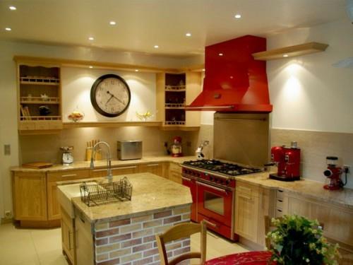 französische dekoration küche idee design