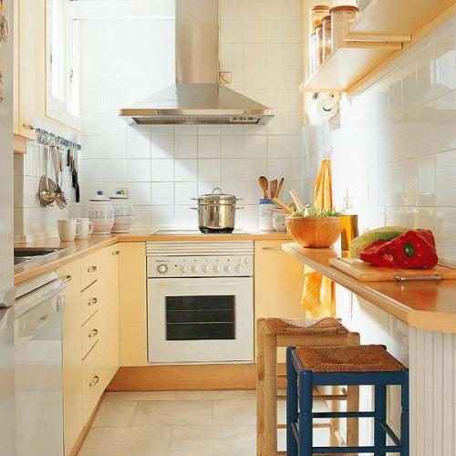 küchenblock kompakte Frühstückstische farben interieur