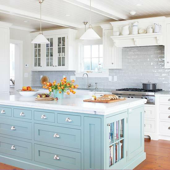 Kücheninsel Blau ~ 15 farbenfrohe kücheninsel ideen für ihre wohnung