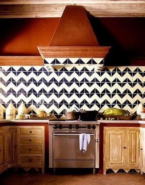 küchenspiegel designs schwarz interessant eklektisch weiß