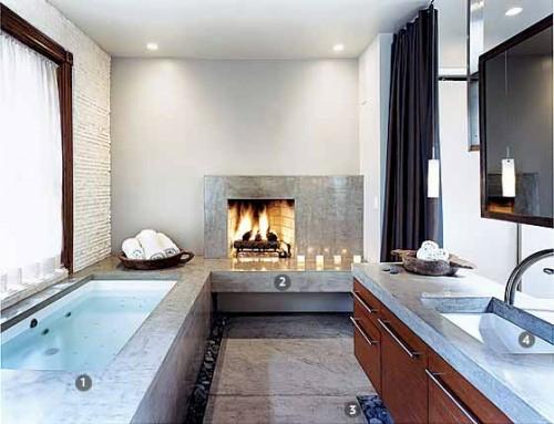 keramik-badewanne-badetücher-idee-design-badezimmer
