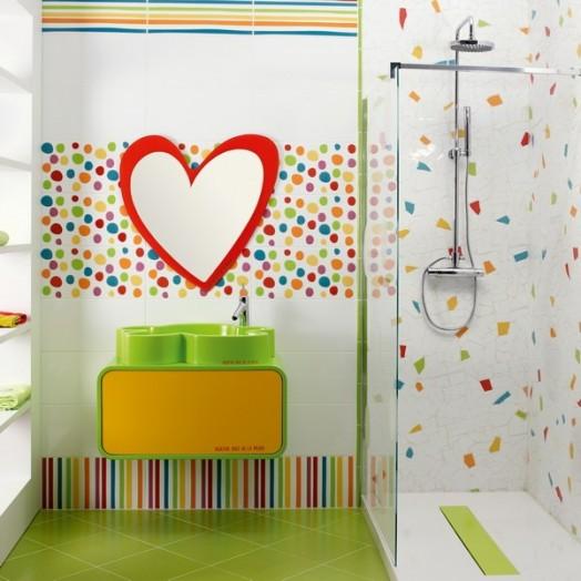 Erstaunliche Kinder Badezimmer Interieurs von Laufen