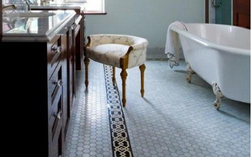 15 Moderne Badezimmerboden Ideen U2013 Außergewöhnliche Designer Vorschläge ...